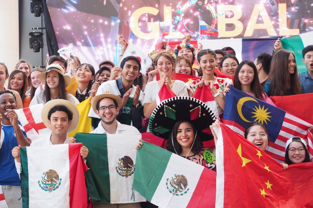indonesia mexican volunteers